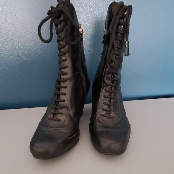Clark's Artisan black leather upper lace u…